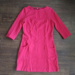 Boden Cotton Red Dress in 4R